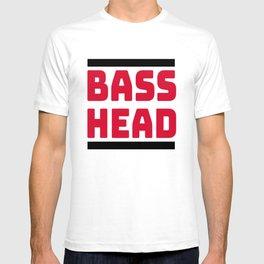 Bass Head, Rave, EDM, Junglist, dj gift, Dubstep, Dnb, DJ T-Shirt T-shirt
