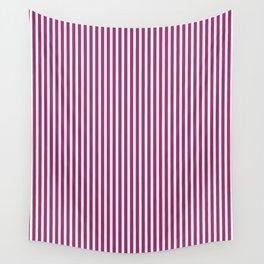 Festival Fuchsia Stripes Wall Tapestry