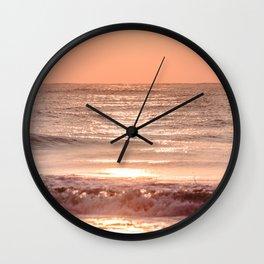 Hilton Head Sunrise Wall Clock