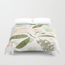 Floral mood Duvet Cover
