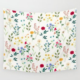 Spring Botanicals Wall Tapestry