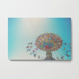 spinning around & around & around ... Metal Print