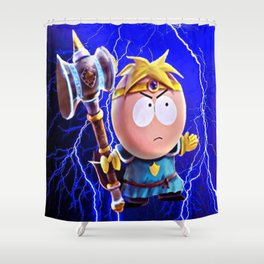 Thor Butters Shower Curtain