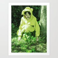 onesie Art Prints featuring Onesie Wonder 2 by Dream Realm Photography and Art