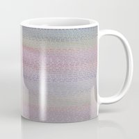 numbers Mugs featuring Numbers by Melissa Roberts