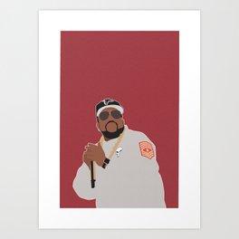 BIG BOI Art Print