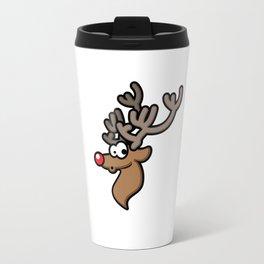 Christmas Design Rudolph 2 Travel Mug