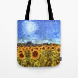 The Sunflowers Van Gogh Tote Bag