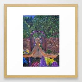 Gated Garden Framed Art Print