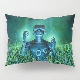 Virtual Dawn Pillow Sham
