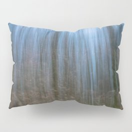 Abstract forest, intentional camera movement Pillow Sham