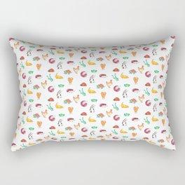 Animal Tiles Rectangular Pillow