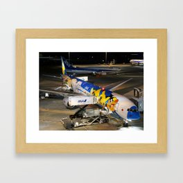 All Nippon Airways - ANA Boeing 777-381 Framed Art Print