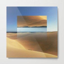 Dunes in Gran Canaria Metal Print