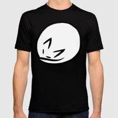 Zen Cat Black MEDIUM Mens Fitted Tee