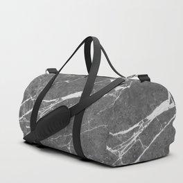 Matte Black Marble Duffle Bag