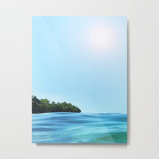 The Happy Isle Metal Print