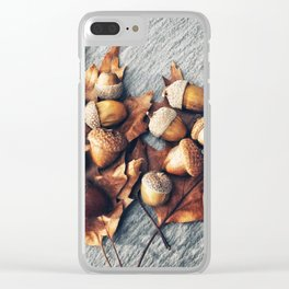 Autumn Still Life Clear iPhone Case