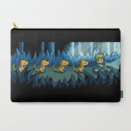 Pixel Jurassic World Carry-All Pouch