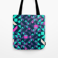 GEOMETRIC COLOUR POP Tote Bag