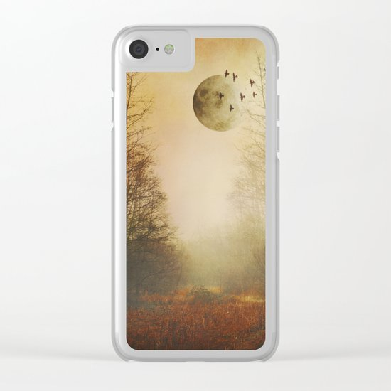 mOOn meaDow Clear iPhone Case