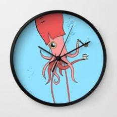 Gentlesquid Wall Clock