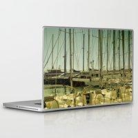 marina Laptop & iPad Skins featuring marina by gzm_guvenc