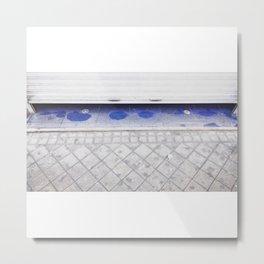 Azul (a veces) Metal Print