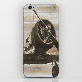 Old airplane 2 iPhone Skin