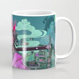 City Night Monster Coffee Mug