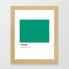 Pantone 17-5641 Framed Art Print
