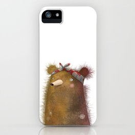BEAR WITH ME | GLADYS | WHIMSICAL iPhone Case
