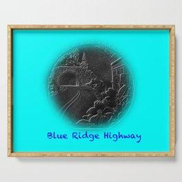 Blue Ridge Parkway Serving Tray