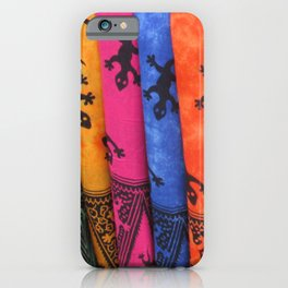 Balinese Batik iPhone Case