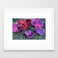 valentines Framed Art Prints featuring Valentines  by Natalie Snowdon
