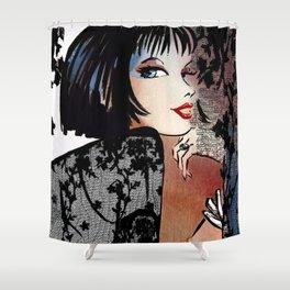 Lace seduction Shower Curtain