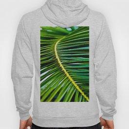 Green Palm Poetry Hoody