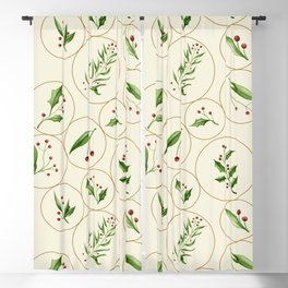 Berries Baubles #society6 #xmas Blackout Curtain