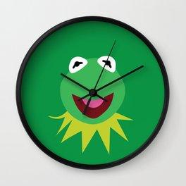 Minimalist Kermit Wall Clock