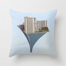 Stasis V Throw Pillow
