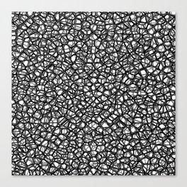 staklo (grays) Canvas Print