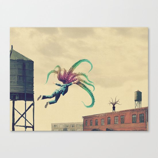 Welcome home son Canvas Print
