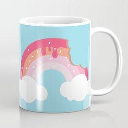 A bite of Donut - Feel like Heaven Coffee Mug
