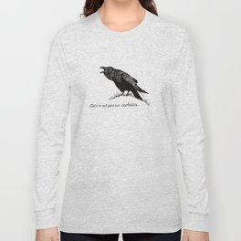 Ceci n'est pas un corbeau. Long Sleeve T-shirt