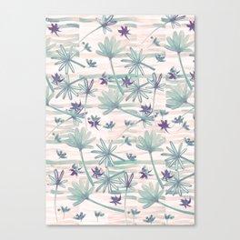 Sea floral print Canvas Print