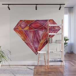 Million-Carat Ruby Wall Mural