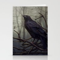 raven Stationery Cards featuring Raven by Raven-Art