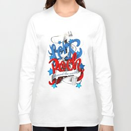 Let's Rock Around The World Long Sleeve T-shirt