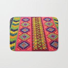 Colorful Guatemalan Alfombra Bath Mat