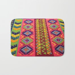 Colorful Guatemalan Alfombra Bath Mat